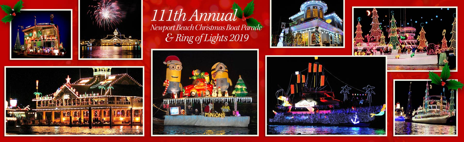 2018 newport beach boat parade website company christmas event and holiday party cruise
