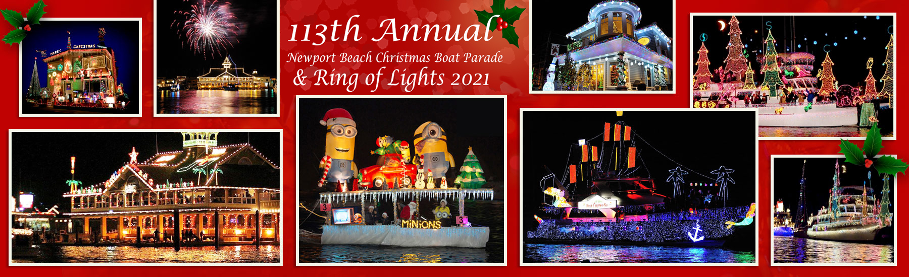 2020 Newport Beach Boat Parade Website   Company Christmas Event