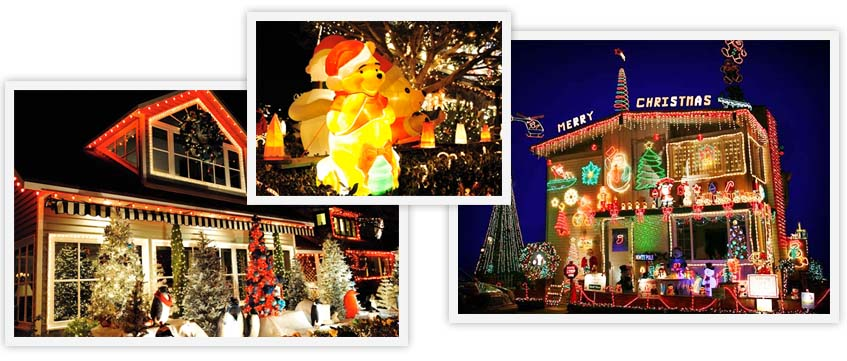 You Will See Bayfront Homes Docks Yards In Extravagant Holiday Lights Displays And Decor Yachting Companies Other