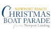 Newport Beach Christmas Boat Parade Ring of Lights