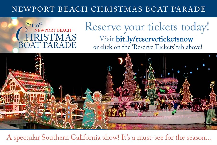 Newport Beach Boat Parade - Complete guide to viewing the Newport